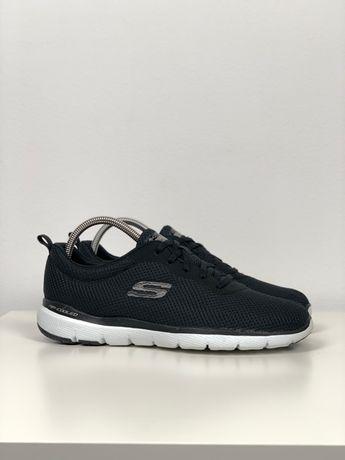 Кроссовки спортивные 41 Skechers Flex Appeal original 28 см черные