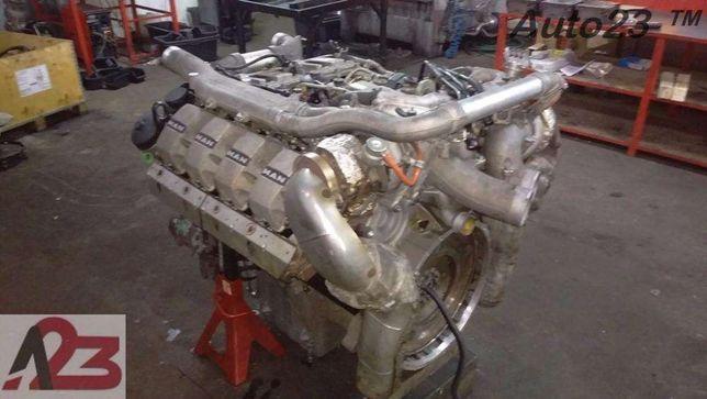 Silnik MAN D2868LF02 V8 680KM E5 Silnik MAN V8 E5 MAN TGX Liebherr