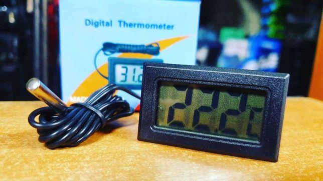 Термометр с выносным датчиком температуры,диапазон изм. -50 до +110