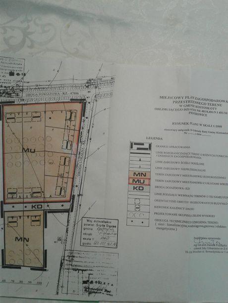 Sprzedam atrakcyjną działkę budowlaną pod Wrocławiem.