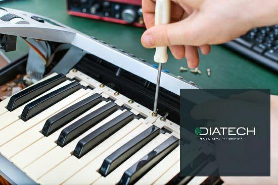 Teclado sintetizador piano, peças, reparação e Assistencia Técnica