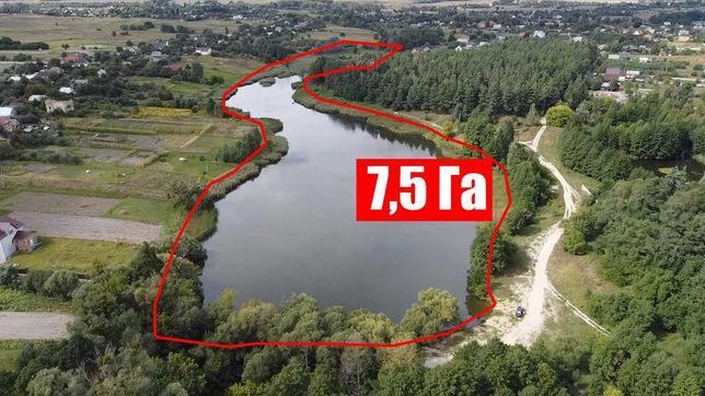 Продам приватизированное зарыбленное озеро недалеко от Киева