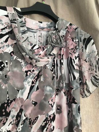 Zwiewna sukienka r.48