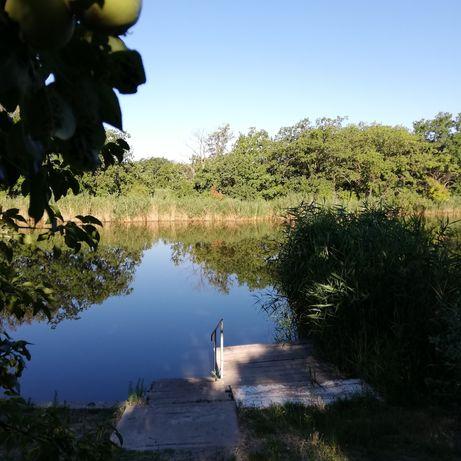 Продам свой дом берег Самарчук, Песчанка, суперместо 11сот 65 м2 лес