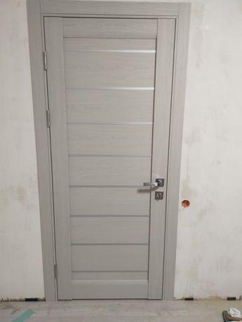 Установка міжкімнатних дверей.Монтаж между комнатных дверей.