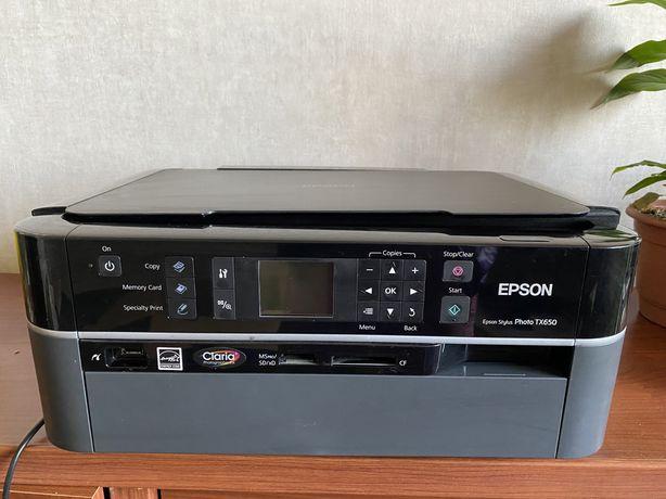 Принтер МФУ Epson TX650