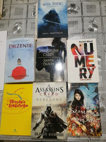 Książki, Drżenie, Anioł Śmierci, Renesans, Szamanka od umarlaków