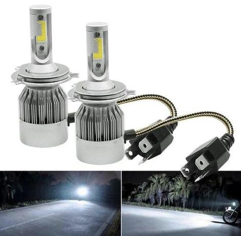 Led лампы в авто,диоды в фары H1/Н4/Н3/Н7/H11