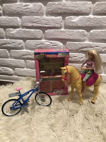 Кукла барбі лошадка мебель barbie оригинал