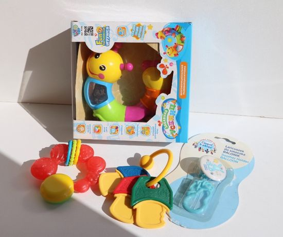 Игрушки для детей до 1 года; Гусеница; охлаждающий прорезыватель,