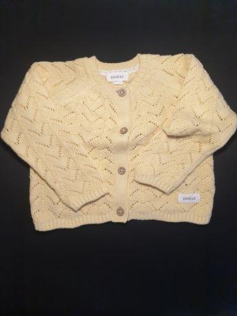 Sweter dziewczęcy  Newbie rozmiar 80
