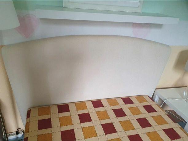 Zagłówek wezgłowie łóżka łóżko 140x200 beż krem białe