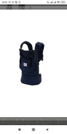 Эрго рюкзак переноска Ergo Baby Carrier органик Navy