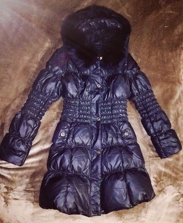 Пуховик пальто зима куртка