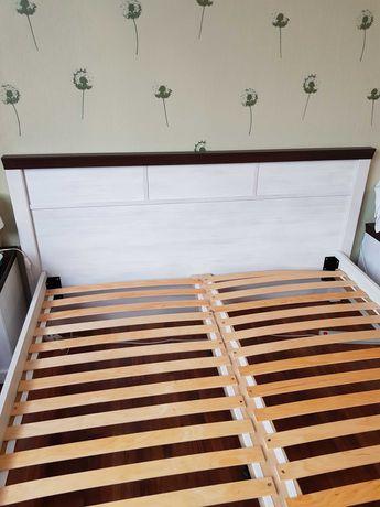Łóżko sypialniane ze stelażem AGATA