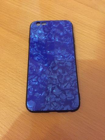 Скляний чехол на айфон6,6s