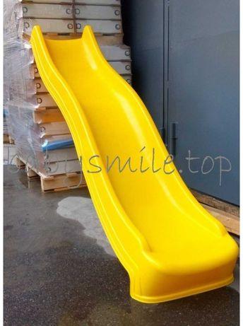 Гірка Пластикова Hapro 2.2 метра жовта