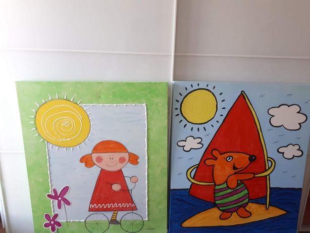 Quadros de decoraçao de criança