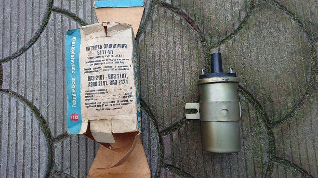 Новая катушка зажигания для ВАЗ 2101-2107, 2121, АЗЛК 2141