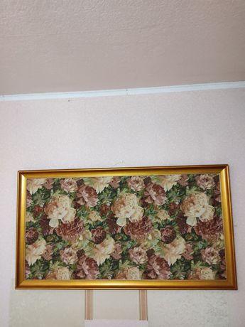 Гобелен картина цветы