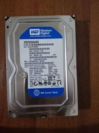 Жесткий диск HDD Western Digital 250/ Samsung 500GB