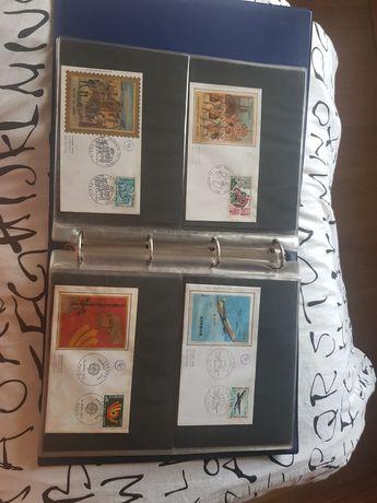 Vendo coleção de 48 envelopes