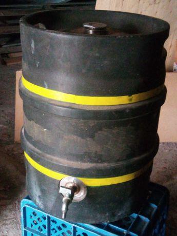 Barril em inox c/ torneira