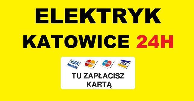 ELEKTRYK KATOWICE 24h Awarie - Usługi od 49zł - Udzielam Gwarancję SEP