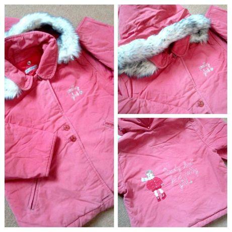 Теплая куртка\ Курточка на девочку\ Одежда для девочек