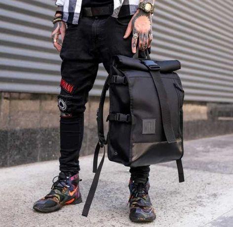 Городской рюкзак роллтоп мужской rolltop roll сумка для ноутбука 57