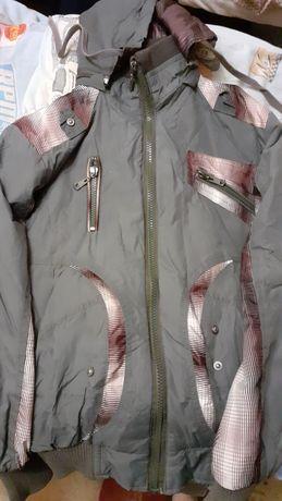 Двусторонняя куртка весна- осень
