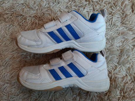 Кроссовки детские белые adidas оригинал 17.5см кросівки дитячі Nike