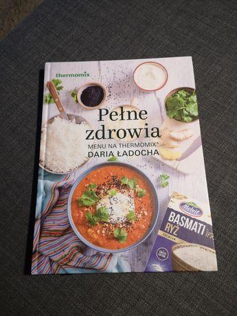 Książka z przepisami na thermomix Pełne zdrowia Daria Ładocha