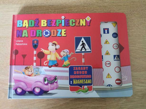 Książka Bądź bezpieczny na drodze z magnesami