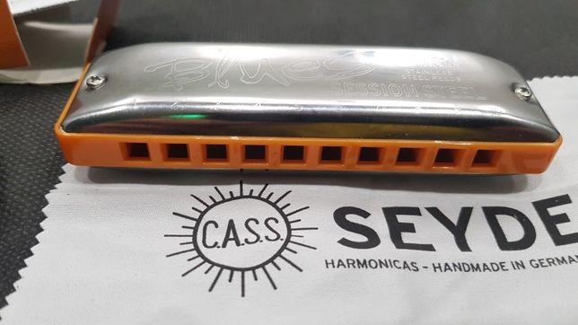 Губная гармошка  Seydel Session Steel. Low C