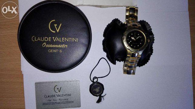 Unikalny zegarek Claude Valentini