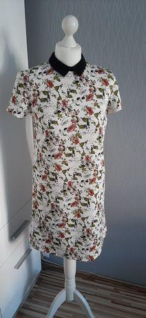 Sukienka/ tunika z kołnierzykiem MOHITO