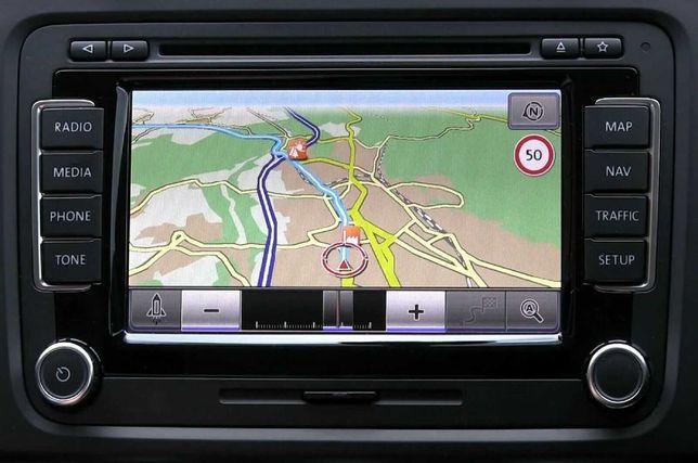 Обновление карт навигации RNS 510 (VW, AUDI, CKODA, SEAT)
