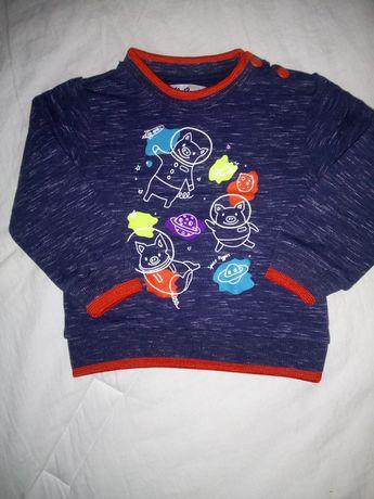 Bluza dresowa r.74