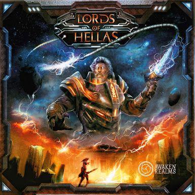 Gra planszowa Lords of Hellas NOWA