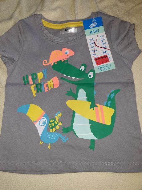 Sprzedam t-shirt Pepco nowy 2szt