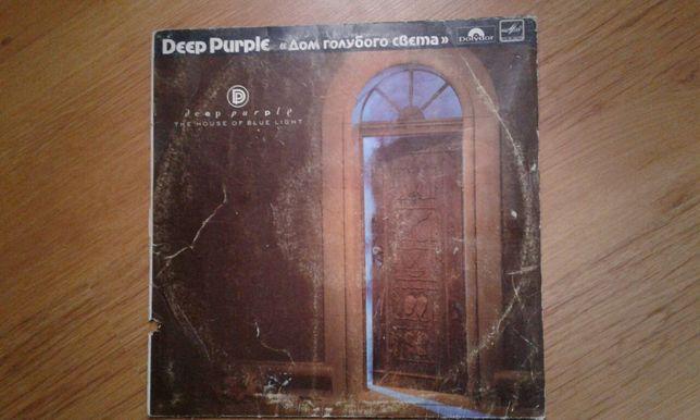 Платівка Deep Purple.