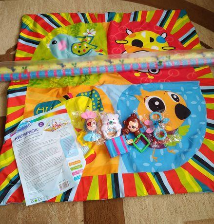 Развивающий коврик для детей детский +ПОДАРОК