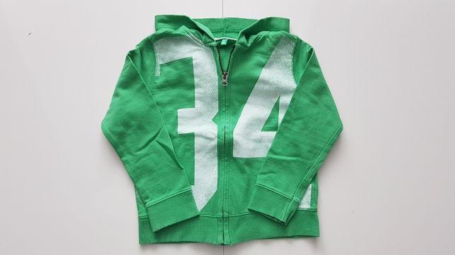 Bluza rozpinana Benetton rozmiar 110 (4-5 lat) Stan: IDEALNY!!!