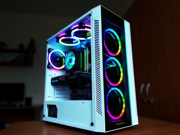 Компьютер!Ryzen 5 1600,DDR4 16gb,1TB HDD+250gb SSD,RX 470, Asus ROG MB