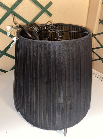 Lindo Abajur de sala preto