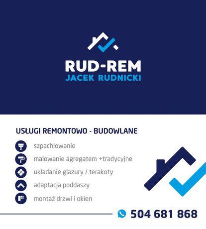 RUD-REM Elewacje i Usługi Remontowo-Budowlane Kompleksowe wykończenie