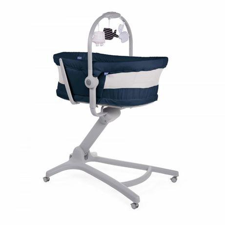 BABY HUG AIR INDIA INK 4w1 leżaczek kołyska krzesełko do karmienia
