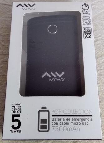 Power Bank MyWay - 7500 mAh
