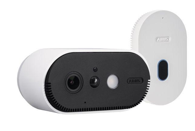Monitoring Wi-Fi ABUS 2- kanałowy z kamerką Full HD bezprzewodowy Aku